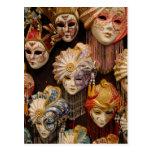 Máscaras del carnaval en Venecia