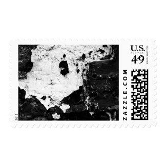 máscaras del devestation sello postal