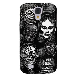 Máscaras del monstruo de la película de terror (b& funda para galaxy s4