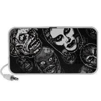 Máscaras del monstruo de la película de terror (b& mini altavoz