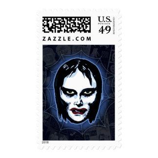 Máscaras del monstruo de la película de terror sellos