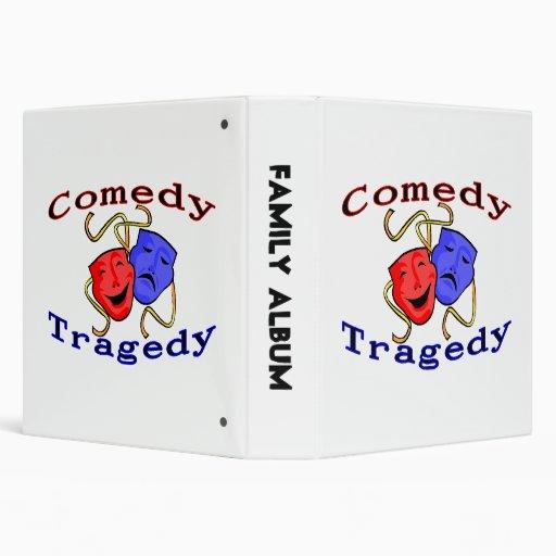 """Máscaras del teatro de la tragedia de la comedia carpeta 1 1/2"""""""