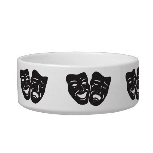 Máscaras del teatro del drama de la tragedia de la boles para gatos