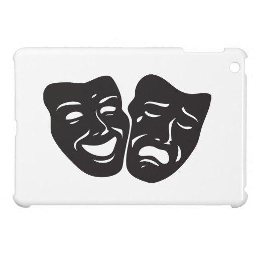 Máscaras del teatro del drama de la tragedia de la iPad mini carcasas