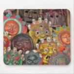 Máscaras en Boudhanath Tapetes De Ratón