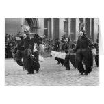 Máscaras Parade, Philadelphia, 1909 Felicitacion