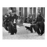 Máscaras Parade, Philadelphia, 1909 Postal