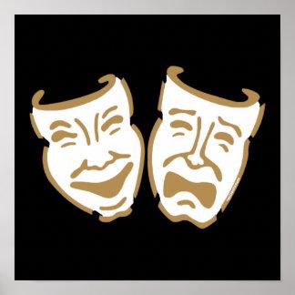 Máscaras simples del drama poster