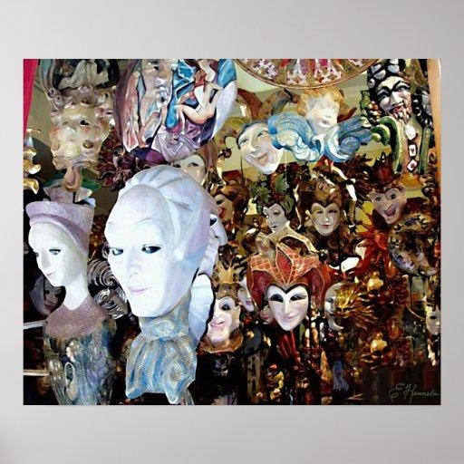 Máscaras venecianas 2 póster