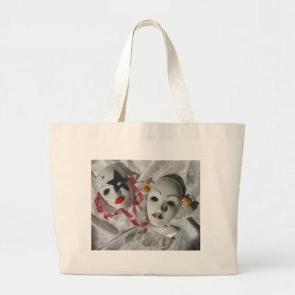 Máscaras venecianas bolsa tela grande