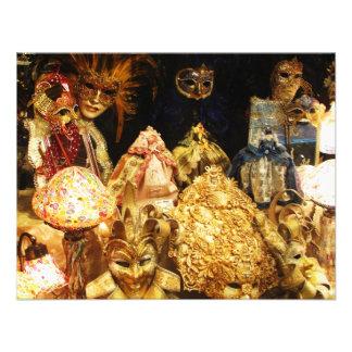 Máscaras venecianas del carnaval - Venecia Italia Comunicados