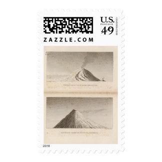 Mascareigne, Vesuve Postage Stamp