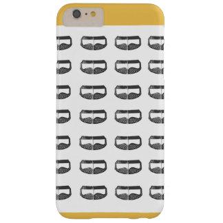 mascarilla árabe del caso del iphone funda barely there iPhone 6 plus