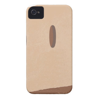 mascarilla de la bolsa de papel carcasa para iPhone 4 de Case-Mate