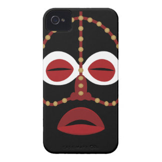 Mascarilla india africana nativa carcasa para iPhone 4