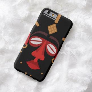 Mascarilla india africana nativa funda barely there iPhone 6