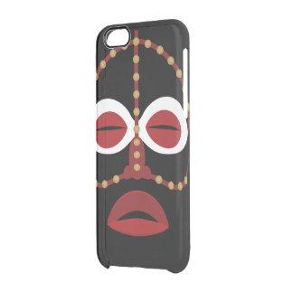 Mascarilla india africana nativa funda clear para iPhone 6/6S