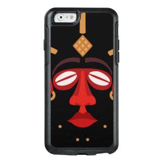 Mascarilla india africana nativa funda otterbox para iPhone 6/6s