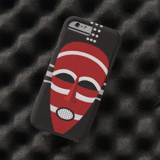 Mascarilla india africana nativa funda resistente iPhone 6