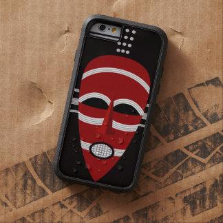 Mascarilla india africana nativa funda tough xtreme iPhone 6