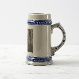 Mascarons Fountain Beer Stein