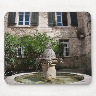 Mascarons Fountain Mousepads