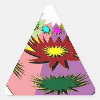 Mascot Triangle Sticker