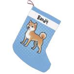 Mascota adaptable bota navideña pequeña
