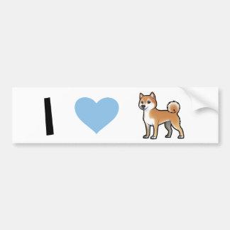 Mascota adaptable etiqueta de parachoque