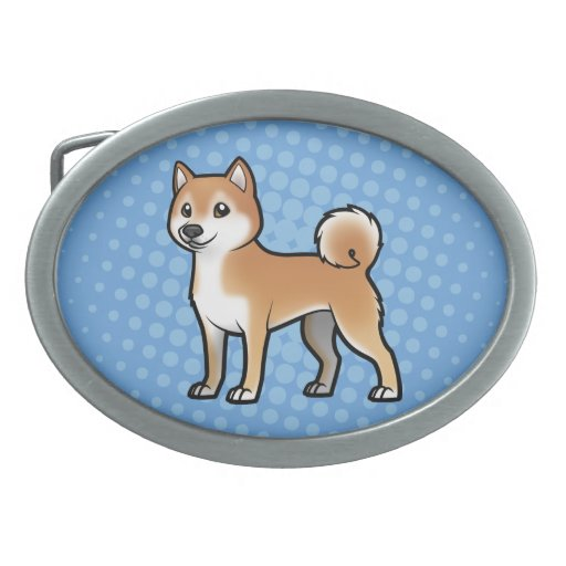 Mascota adaptable hebillas de cinturon ovales