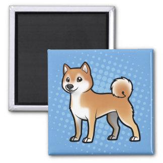 Mascota adaptable imán cuadrado