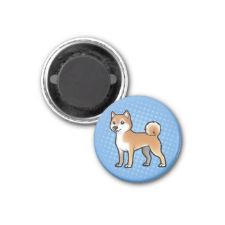 Mascota adaptable imán redondo 3 cm