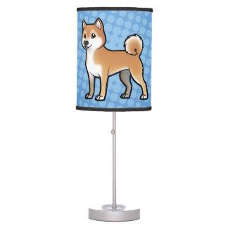 Mascota adaptable lámpara de mesilla de noche
