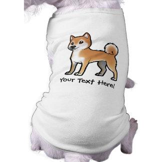 Mascota adaptable playera sin mangas para perro