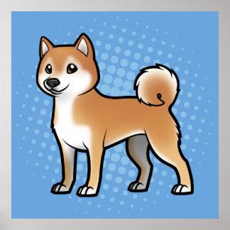 Mascota adaptable póster