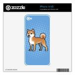 Mascota adaptable skin para el iPhone 4S