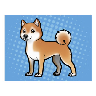 Mascota adaptable tarjetas postales