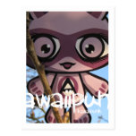 Mascota adorable tarjetas postales