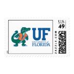 Mascota Albert - color de la Florida Sello