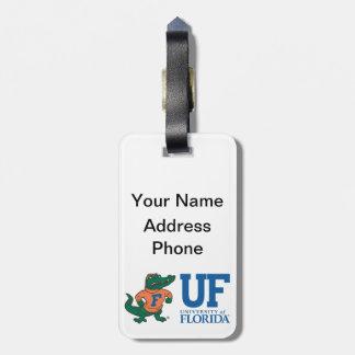 Mascota Albert de la Florida con el gorra - color Etiquetas Para Maletas