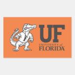 Mascota Albert de la Florida - negro y blanco Rectangular Altavoz