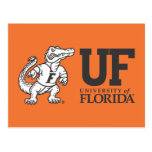 Mascota Albert de la Florida - negro y blanco Postales