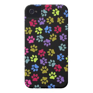 Mascota animal del mascota de la impresión del gat iPhone 4 Case-Mate protectores