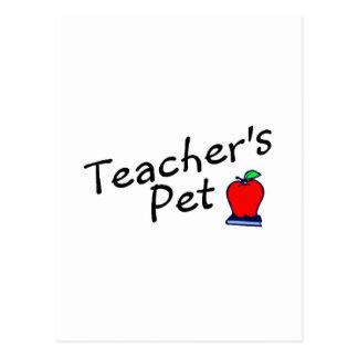 Mascota Apple de los profesores Postales
