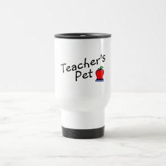 Mascota Apple de los profesores Taza De Viaje