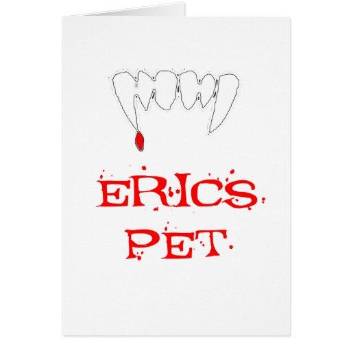 Mascota de Erics Tarjeton