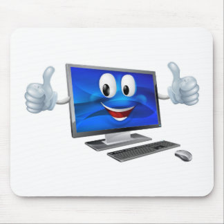 Mascota de la computadora de escritorio alfombrillas de ratón
