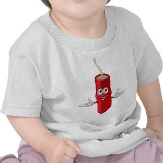 Mascota de la dinamita camisetas