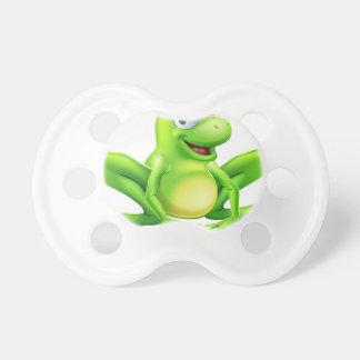 Mascota de la rana chupete