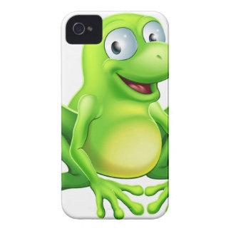 Mascota de la rana iPhone 4 Case-Mate coberturas
